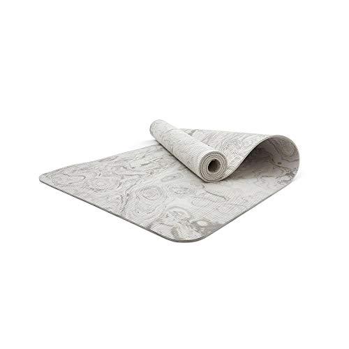 adidas Unisex-Adult Tarn Yoga Matte-5mm-Alumina, Tonerde