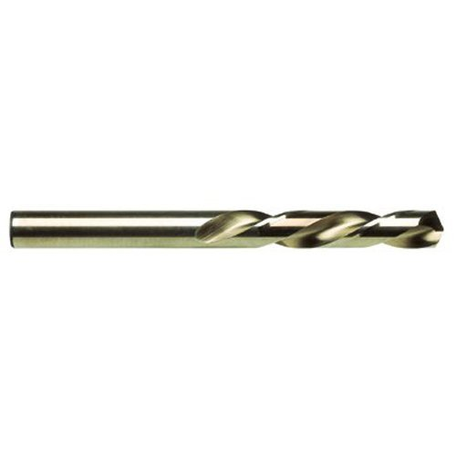 Irwin Hanson Left-Hand Mechanics Length Cobalt High Speed Steel Drill Bit, 1/8