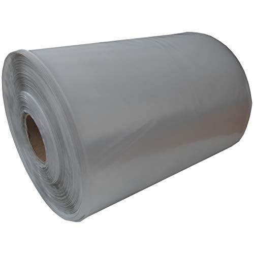 Rollo de lámina de polietileno de baja densidad (polietileno de baja densidad), transparente, ancho 315 mm, longitud 250 m, grosor 100 my Breite: 450mm