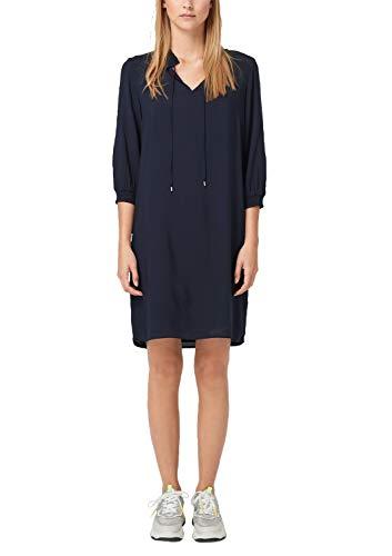 s.Oliver Damen 14.908.82.7532 Kleid, Blau (Navy 5959), (Herstellergröße: 36)