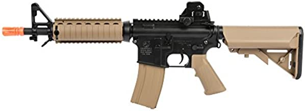 Colt Soft Air CQBR-RIS Electric Powered Airsoft Gun with Adjustable Hop-Up, 350-380 FPS