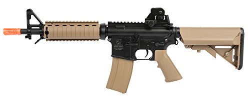 Soft Air Colt CQBR-RIS Electric Powered Airsoft Gun with Adjustable Hop-Up, 350-380 FPS