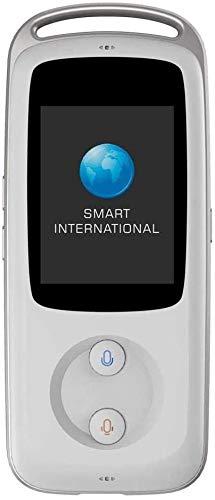 Smart Wi-Fi Übersetzungsgerät, tragbares Intelligent Multilingual Translation Gerät, Echtzeit-Instant-Intelligent Speech Translation Simultanübersetzung Übersetzer kyman