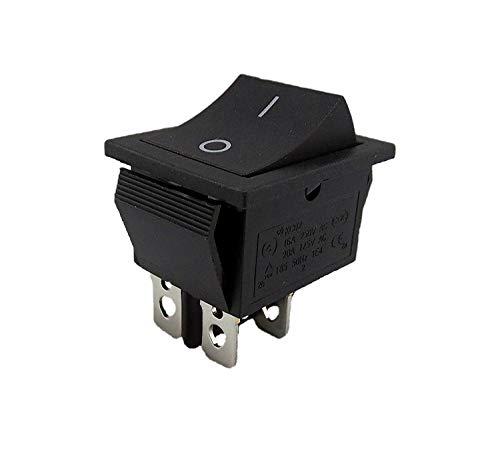 Wipptaster TASTER 4-Pin OFF/ON einbau ca. 28,5x21,15 mm Perfekt als Ersatz für Rasenmäher (2)