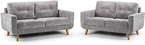 Sofás y sofás de muebles para sala de estar, dormitorio, habitación de huéspedes, oficina, recepción (3 plazas y 2 plazas)