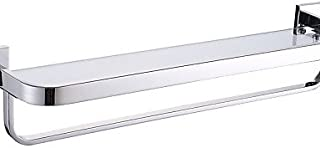 Sursy Plataforma de Vidrio/Calefactor de Toallas Contemporáneo - Montura de Pared
