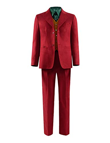 VOSTE Costume Halloween Cosplay Party Outfit Suit for Men (X-Small, Full Set 3 (Uniform Cloth))