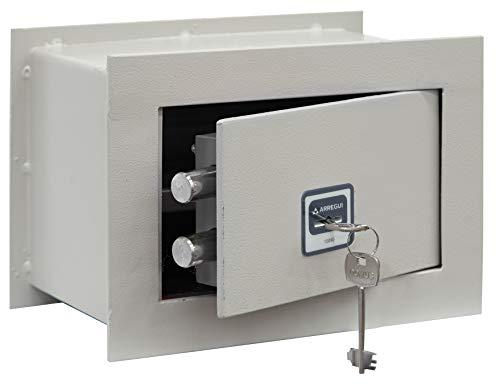 Arregui BC/0 Caja fuerte de empotrar a pared, 5 mm de espesor,...