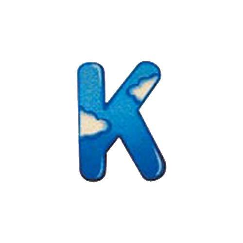 Selecta Spielzeug Alphabet K, Buchstabe, Kinderzimmer Deko, Holzspielzeug, Holz, 8 cm, 60911