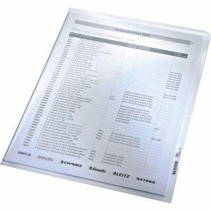 Leitz 100 x Sichthülle A4 0,16mm glasklar