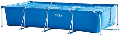 intex Rectangular Frame Pool, Multi-Colour, Ages 6+, 28273