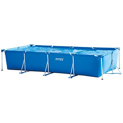 Intex 28273NP  Small Frame - Piscina desmontable tubular, 450 x 220 x 84 cm, 7.127 litros