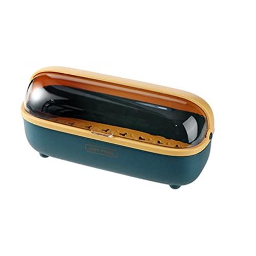 Cestas para cubiertos Caja de Almacenamiento de Cubiertos Caja de Palillos de Drenaje del hogar con Tapa Estantes de Cocina Almacenamiento de Cuchillos y Tenedores