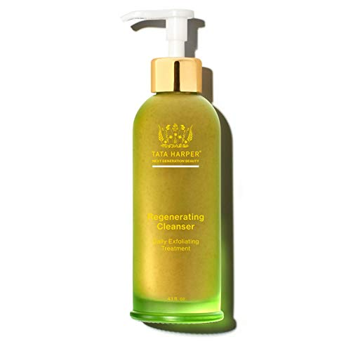 Tata Harper Regenerating Cleanser, Daily Exfoliating Treatment, 100% Natural, Made Fresh in Vermont, 125 ml
