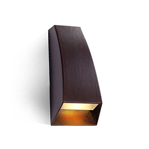 JJZHG wandlamp wandlamp waterdichte wandverlichting op en neer verlichting buitenwandlamp waterdicht tuinwandlamp wandlamp Villa Foyer Led-vloerlamp, wit licht wandlamp