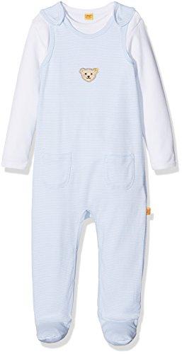Steiff Bavoir pour bébé - Bleu - 12-18 Mois (80 cm/86 cm)