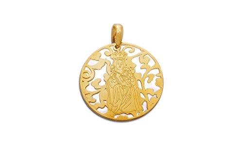 Medalla Virgen de la Victoria ORO-NÁCAR