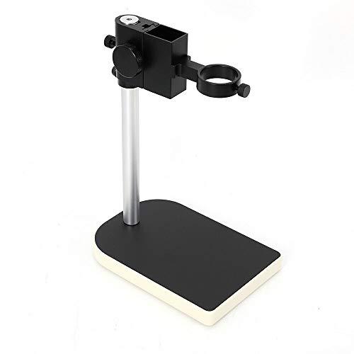 BTdahong Soporte de microscopio para cámara de microscopio, estéreo, Grande, cámara de Laboratorio, Universal, Resistente, Soporte de Mesa Ajustable de diámetro 42 mm