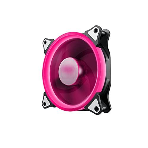 Disipador Pc Fan de la caja de enfriamiento de 140 mm de alto rendimiento que enfría los ventiladores de la PC eficiente del cojinete hidráulico del color de la caja del LED para los casos de la PC Ae