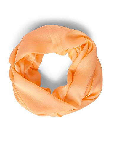Cecil Damen 570982 Solid Loop Mode-Schal, cantaloupe orange, One Size