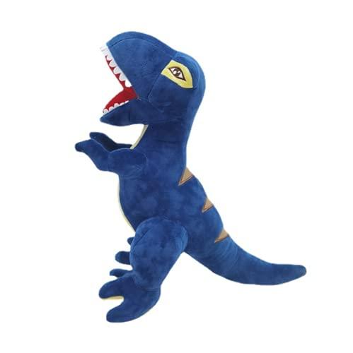 Juguete Peluche Dinosaurio, Muñecos Almohada Animales De Dibujos Animados De Relleno Suave, Juguetes Para Niños, Regalos Cumpleaños De Navidad Para Niños Decoración Del Hogar 38Cm (Azul) 1Pc