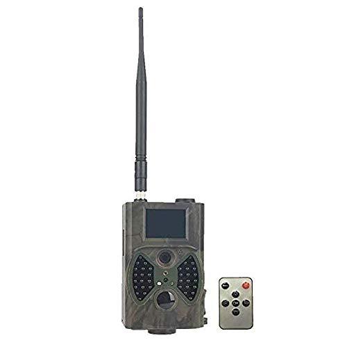 Wildkamera Fotofalle 16MP 1080P Full HD Jagdkamera 120°Weitwinkel 20m Nachtsichtkamera mit Bewegungsmelder Überwachungskamera für Wildtierjagd Heimsicherheit