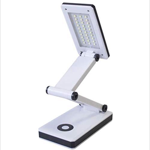 WWWL Lámpara de escritorio de la luz de la cáscara del ABS creativo de la lámpara de mesa de la luz de la noche led 5W plegable portátil recargable 4AAA/USB de estudio