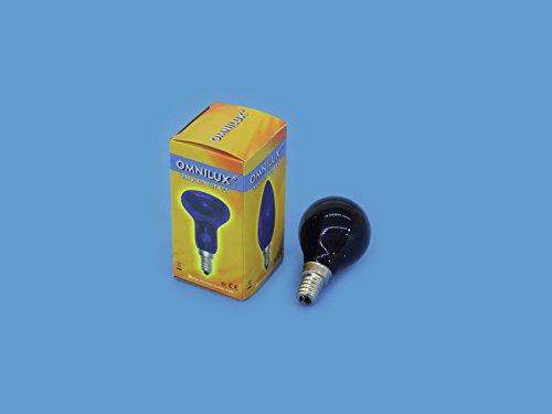 Omnilux - Leuchtmittel G45 230V / 40W E-14 UV