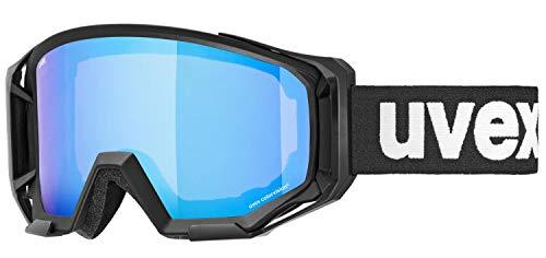uvex Gafas de Ciclismo Unisex Athletic CV para Adultos, Color Negro/Azul y Verde, Talla única