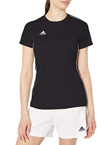adidas Women's Core 18 AEROREADY Primegreen Regular Fit Soccer Short Sleeve Jersey