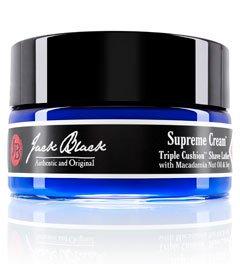 Jack Black Supreme Cream Triple Cushion Shave Lather, 8 Oz