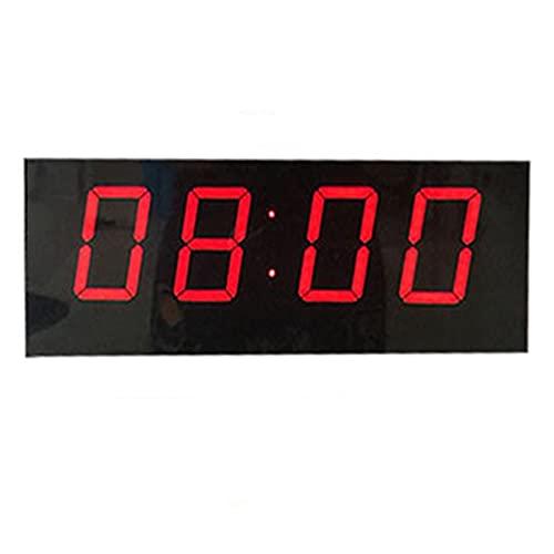 Tabellone Segnapunti Pallacanestro Game Scoreboard Led Led Supporto del tabellone segnapunti del tasto segnapunti Timer Timer Badminton Balldi Facile da Leggere ( Colore : Black , Size : 33x13cm )