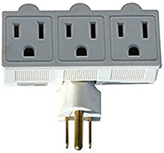 Prime Wire /& Cable PB503105 6-Outlet 2160J Swivel Surge Tap White Inc.