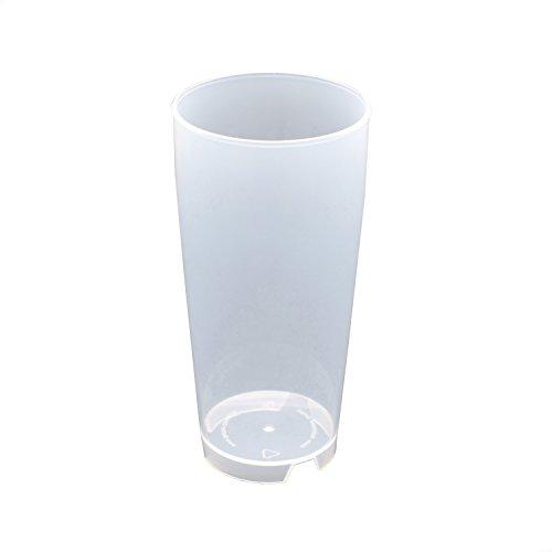 25 Stück 0,3L Mehrwegbecher PP transparent