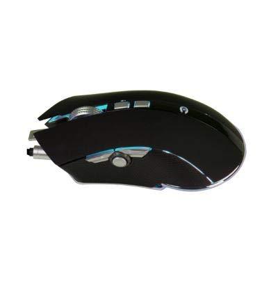 Hyrican Striker ST-GM108 Gaming Maus, 9 programmierbare Tasten, max. 6.000 DPI, RGB-Beleuchtung