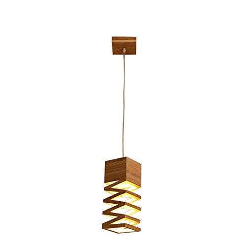 WYHM Lámparas de Araña de Madera LED Luz del Techo de La Lumina for la Oficina de La Oficina del Hogar LED-3W