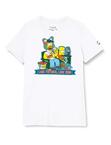 The Simpsons Father, Like Son Camiseta,...