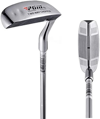 CRESTGOLF Zwei-Wege-Golfschläger-Chippers für Herren, 88,9 cm, Golfkeil für Links- und Rechtshänder
