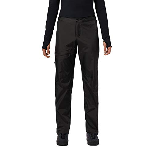 Mountain Hardwear Women's Acadia Pant with Lightweight Waterproof Fabric for Rain Protection When Hiking, Climbing, Camping, and Everyday - Void - X-Small Regular