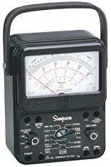 new arrival Simpson 260-8P 12391 Relay outlet online sale popular Protected Black Analog Multimeter online