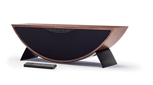 MartinLogan CRESXWAD Portable mp3-player, Wireless Speaker Systems, Crescendo X, Walnut