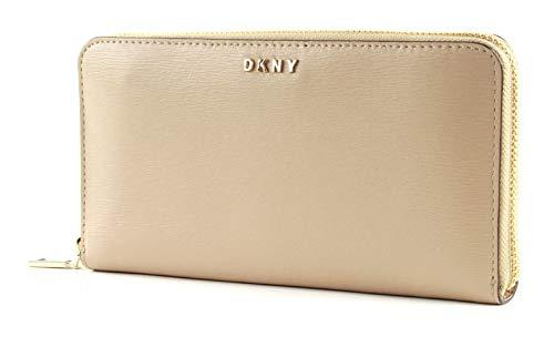 Portafoglio DKNY Donna Karan New York bryant zip around R8313658 SAN sand