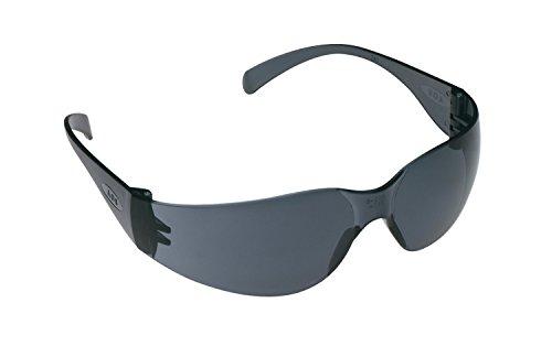 3M Tekk 11330 Virtua Anti-Fog Safety Glasses, Gray-Frame, Gray-Lens, 4-PACK