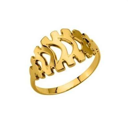 Bague Kenzo plaqué or