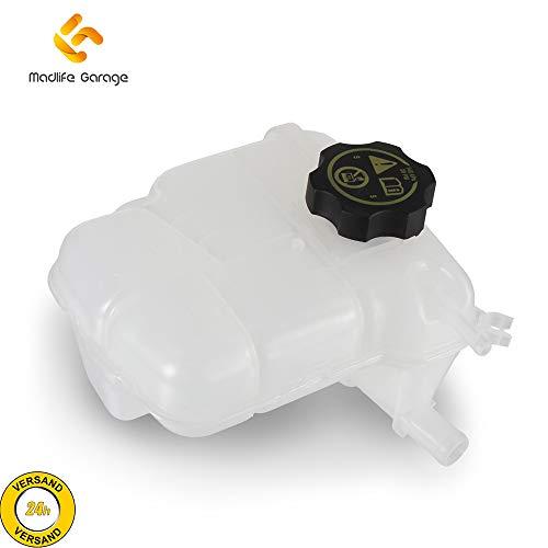Madlife Garage 13393368 Depósito de compensación con líquido refrigerante Dekel Cruze J300 Orlando J309 Astra J Cascada W13