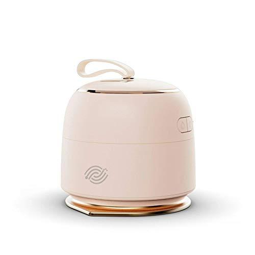 Mobilie - Mini plancha a vapor de viaje inalámbrico, color rosa