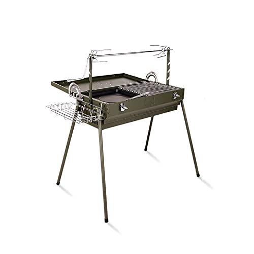 FEANG Grill BBQ Grill Outdoor Portable Barbecue Grill Kohle Grill Grill Multifunktional für Camping Grill Grill BBQ Herd Grillwerkzeug