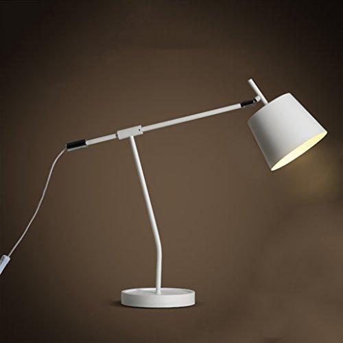 Bonne chose lampe de table Simple Study Desk Lamp Nordic Office Read Study Lampe de table à lampe chauffante à bras long industriel