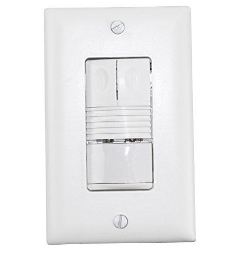 Price comparison product image Wattstopper PW-200-W Occupancy Sensor,  Dual Relay,  PIR,  White