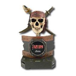 Disney Pirates of The Caribbean Alarm Clock Radio Toys